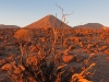 Sunset Atacama desert.