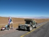 The good Chilean road leading to Argentina Paso Jama route 27